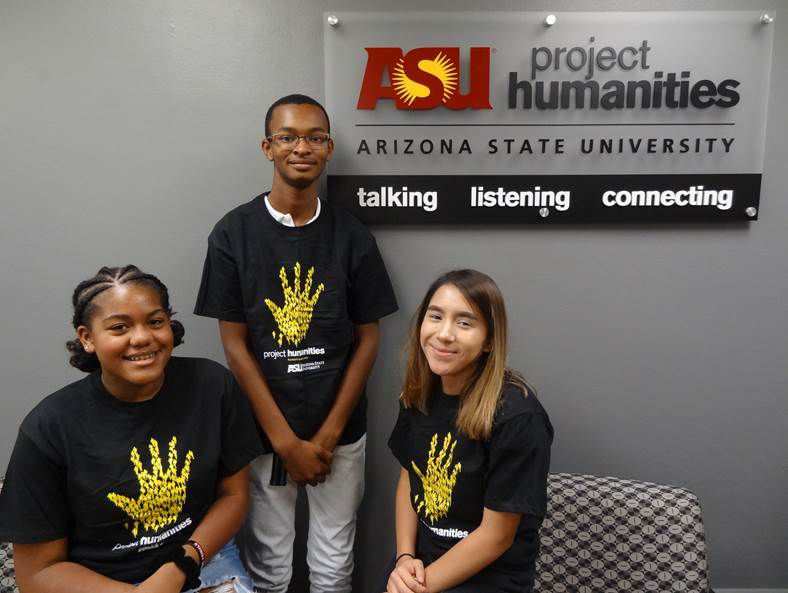 Mountain Pointe senior interning at ASU prof's program