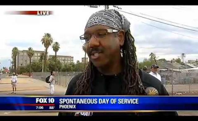 Fox 10 News on Day of Service